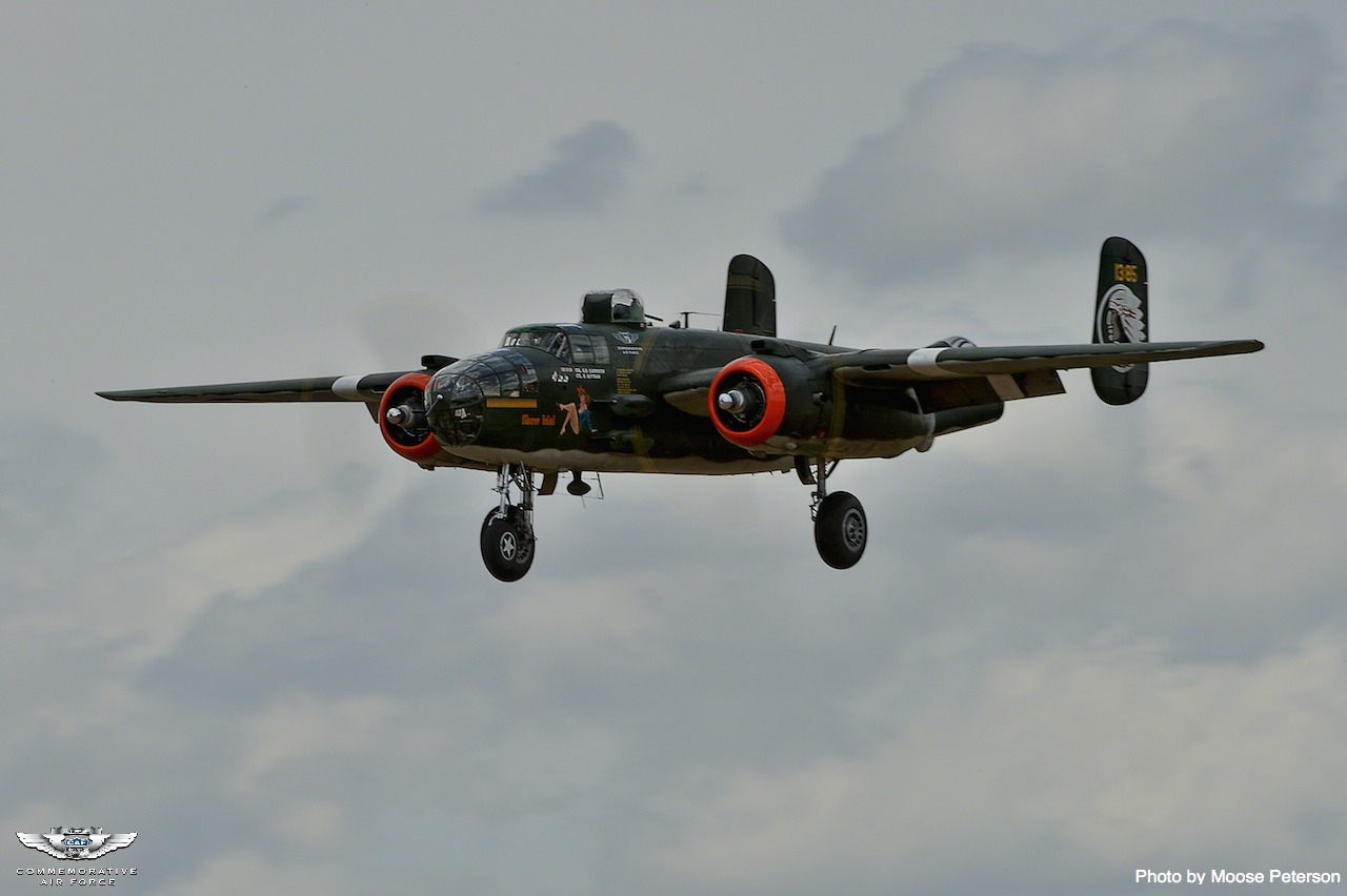 """Aircraft Type North American B25 Mitchell """"Show Me"""