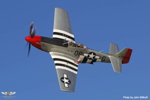 CAF_P-51D Red Nose_ John Willhoff